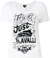 Just Cavalli logo print T-shirt