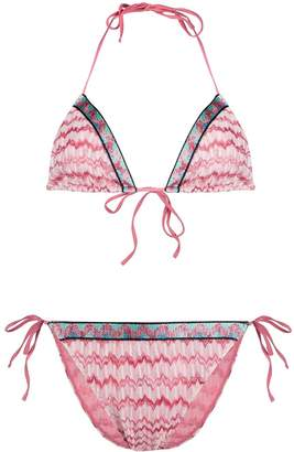 Missoni Mare pattern mix bikini set