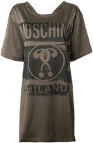 Moschino question mark T-shirt dress