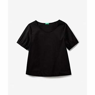 Benetton Z6ERJ) Women's Blusa Shirt