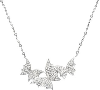 Stephen Webster White Gold and Diamond Pave Fly By Night Triple Necklace