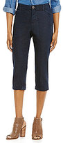 Intro Hailey Denim 5-Pocket Cuffed Capri