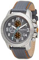 Tommy Bahama Men's Kona Japanese Quartz Leather Strap Watch