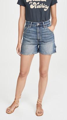 Lee Vintage Modern High Rise Dungaree Shorts