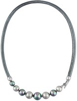 Majorica Simulated Pearl Collar Necklace, 17