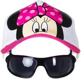 Disney Big Minnie Hat with Sunglasses - Pink-OS