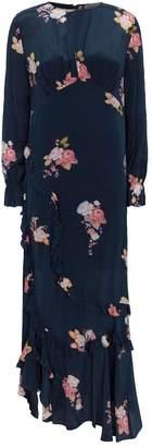 Preen Line Gabriella Rose Print Maxi Dress