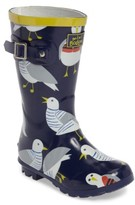 Toddler Girl's Mini Boden Printed Wellies