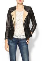 Rebecca Taylor Leather Blazer