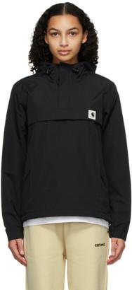Carhartt Work In Progress Black Nimbus Pullover Jacket