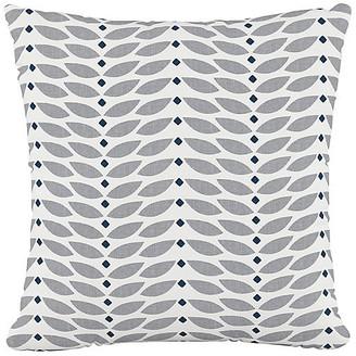One Kings Lane Petal Cotton Pillow - Gray