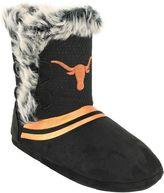Women's Texas Longhorns Mid-High Faux-Fur Boots