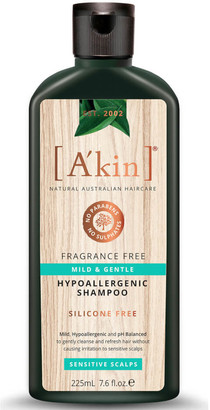 Akin A'kin Mild & Gentle Fragrance Free Shampoo 225ml