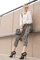 Lucy & Co. Lace Overlay Pants