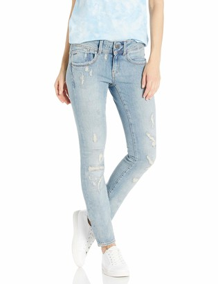 G Star Women's Lynn Mid Rise Skinny Fit Jean in Notto Stretch