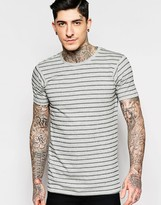 Lindbergh T-Shirt with Gray Stripe