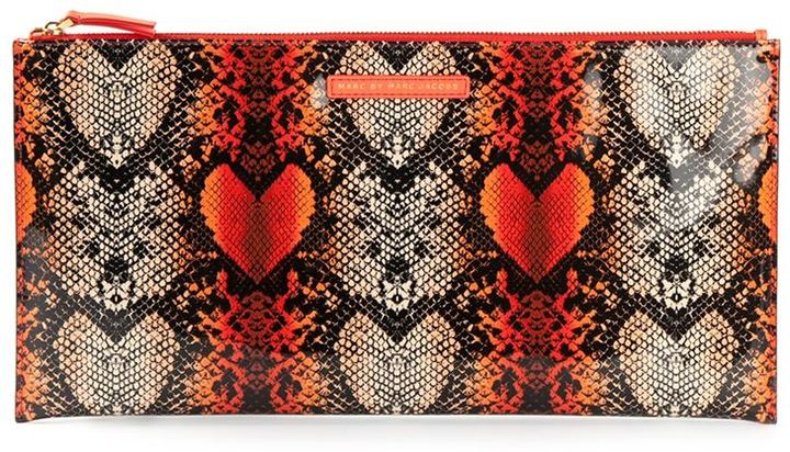 Marc by Marc Jacobs printed clutch