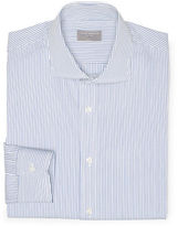 Club Monaco 120s Slim-Fit Stripe Shirt
