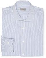Club Monaco 120s Slim-Fit Stripe Shirt