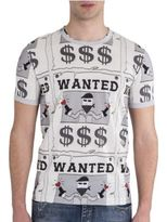 Dolce & Gabbana Wanted Bankrobber Graphic Tee