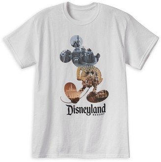 Disney Mickey Mouse Photo Collage T-Shirt for Adults Disneyland
