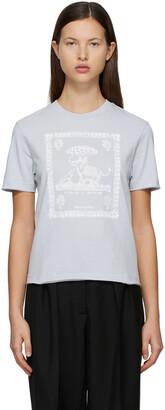 Acne Studios Blue Graphic T-Shirt