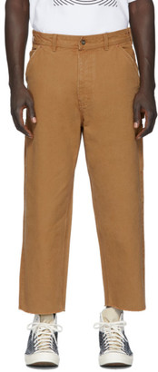 Vyner Articles Tan Canvas Hammer Jeans