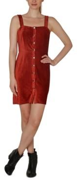 Ultra Flirt Juniors' Corduroy Dress