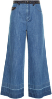 Sonia Rykiel High-rise wide-leg cropped jeans