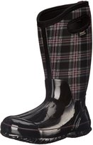 Bogs Women's Classic Winter Plaid Wide Calf Snow Boot