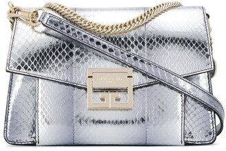 Givenchy GV3 metallic tote bag