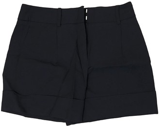 Cacharel Navy Shorts for Women
