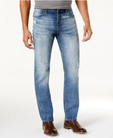William Rast Men's Straight-Fit Ripped Jeans