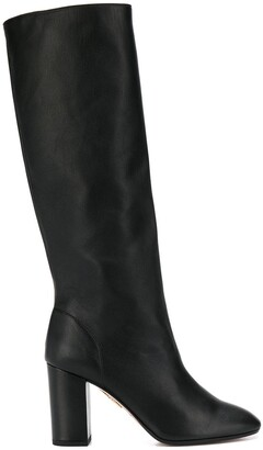 Aquazzura Aqua Boogie 85mm knee-high boots