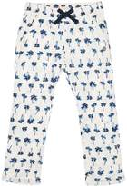 Roxy Girls Lets Just Go Printed Beach Pant White