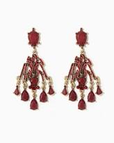 Charming charlie Bursting Gems Statement Earrings