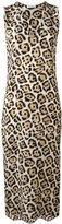 Equipment leopard print dress - women - Silk - XS