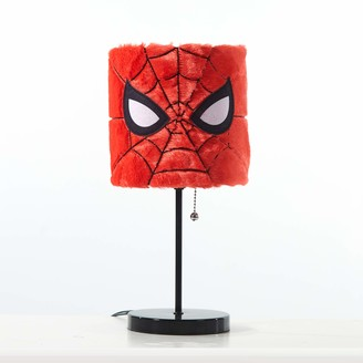 Idea Nuova Spiderman Plush Shade Table Lamp