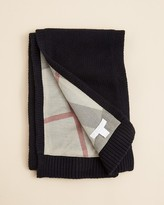 Burberry Unisex Reversible Check to Solid Scarf