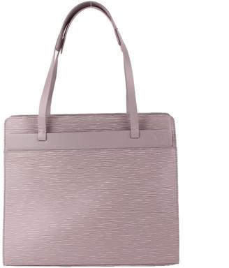Louis Vuitton Lilac Epi Leather Croisette PM Bag