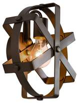 Varaluz Reel 1 Light Wall Sconce - Rustic Bronze