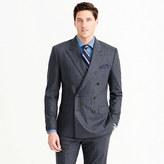 J.Crew Wallace & Barnes peak-lapel suit jacket in Italian wool