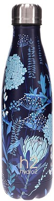 Hydro2 Togo Vacuum Double Wall Stainless Steel Water Bottle 500ml Flower