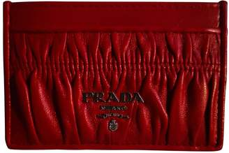 Prada Red Leather Purses, wallets & cases