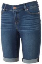 Juicy Couture Women's Flaunt It Jean Bermuda Shorts