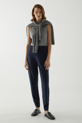 Cos Recycled Cashmere Joggers
