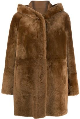 Drome Lamb Fur Reversible Coat