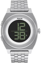 Nixon Time Teller Digi SS with Black Dial