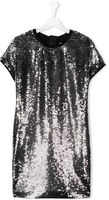 Givenchy Kids TEEN embroidered shift dress