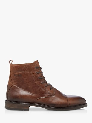 Bertie Copperfield Leather Ankle Boots